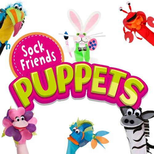 Sock Friends™ Puppet Kits (0)