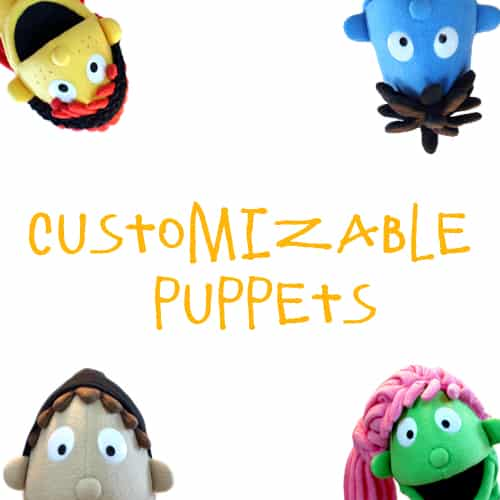 Customizable People Puppets (9)