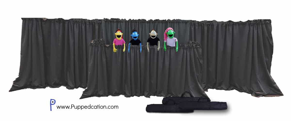Classroom Stage DLX | Full Puppet Stage with Wings